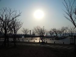 DSCN6025門司港の夕焼け