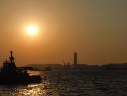 DSCN6034門司港の夕焼け