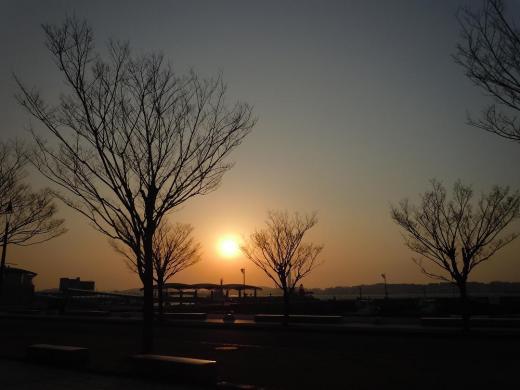 DSCN6041門司港の夕焼け