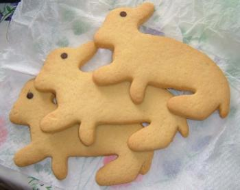 子羊さんのクッキー♪