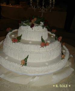 ウェディングケーキ*