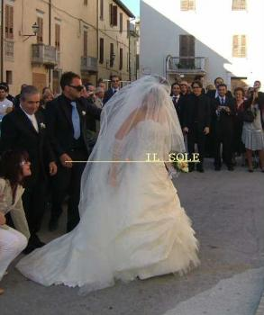 花嫁の到着*