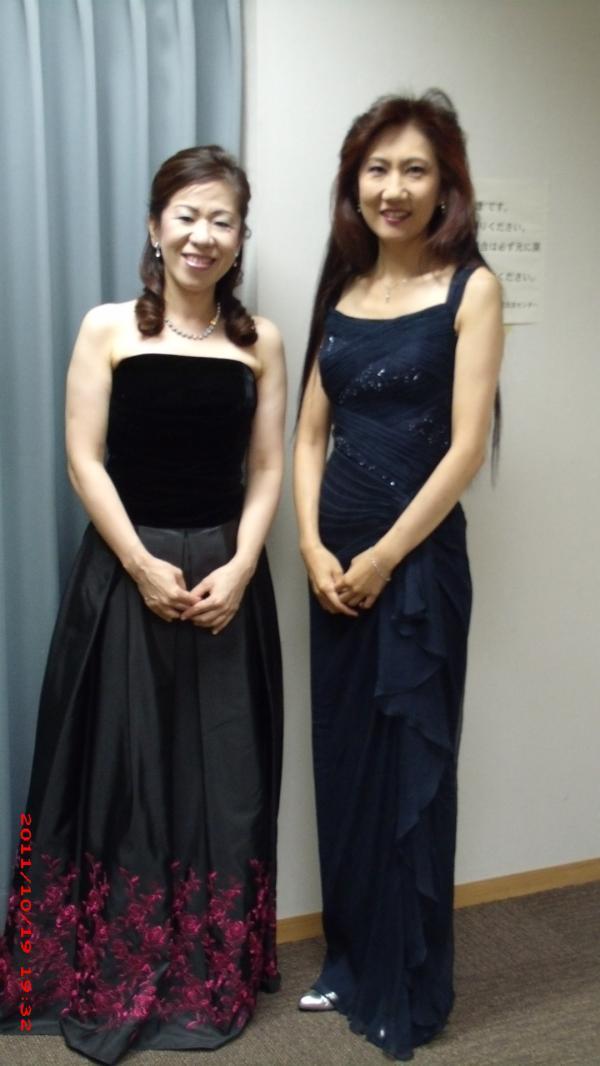 2011年10月18日、鹿児島県民交流センターでの故郷リサイタル1