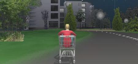 ショッピングカーと