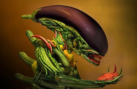 野菜エイリアン