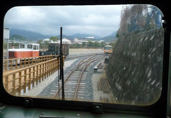 初めてのバンガロー体験2011-35-有田鉄道交流館15