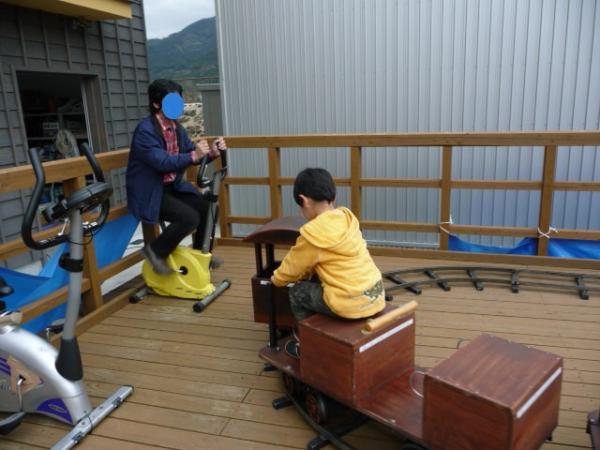初めてのバンガロー体験2011-35-有田鉄道交流館38