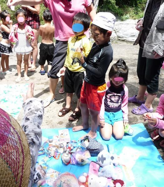 海草郡紀美野町 三尾川で遊び2011-07