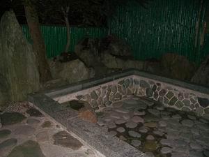 空の露天風呂