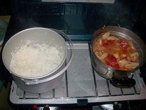 煮込みとご飯