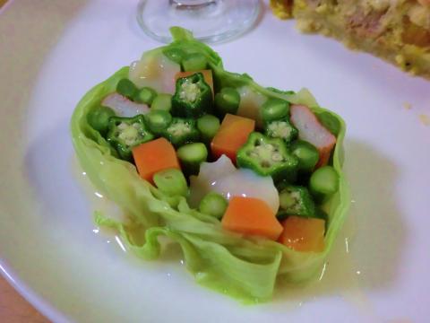 野菜のコンソメテリーヌ