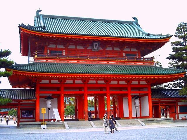 平安神宮正門