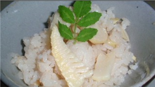 竹の子ご飯