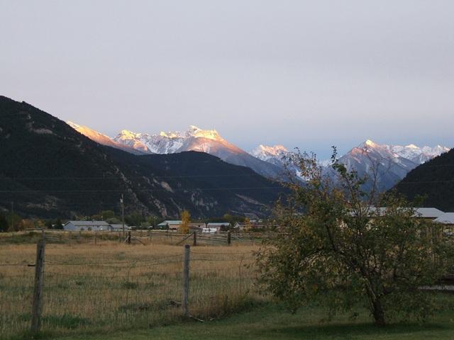 9月末、アブサロカの山々 約3000m~3300m