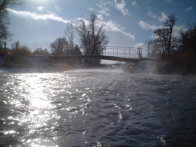 Dean親父製作の鉄の橋