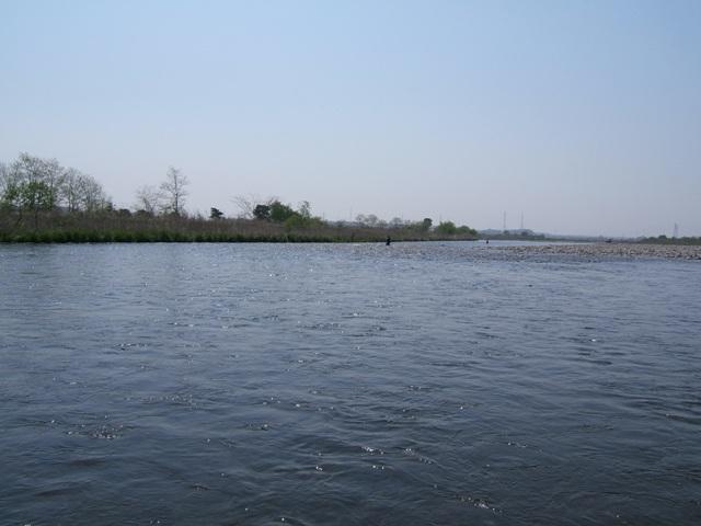 でかい河です