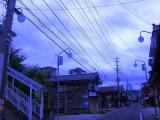 今朝の曇り空。。