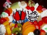 仮面ライダー電王のケーキを・・・♪