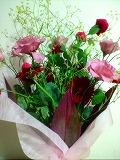 おくさまには花束なんぞを・・・♪