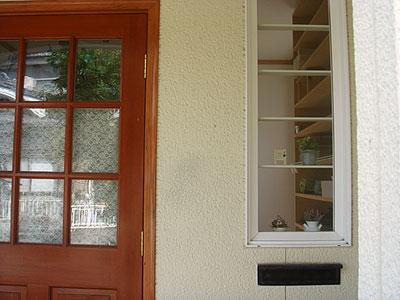 玄関小窓 after