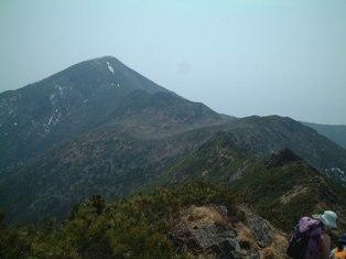 アポイ岳遠景