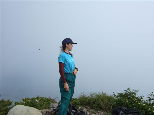 1839峰の頂上