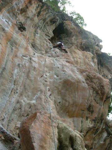 ムイタイエリアのNut Hinを登る