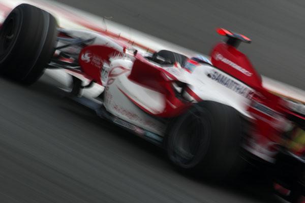 2007F1日本GP 佐藤琢磨