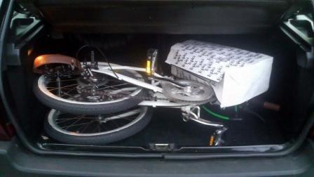シトロエン AX 自転車積めます
