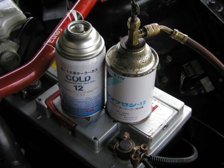 COLD12 R12 エアコンガス