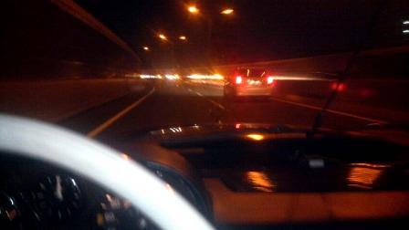 オールドメルセデス 深夜ドライブ