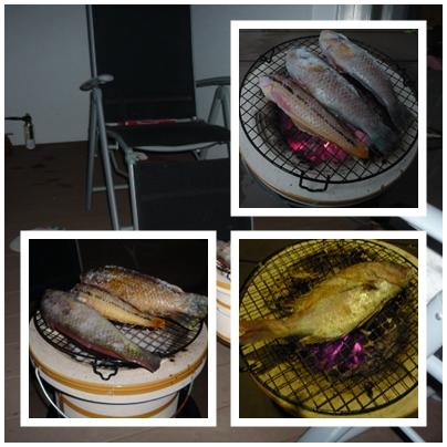 ギザミ・鯛 塩焼き