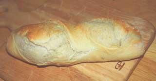 クープの開いたパン
