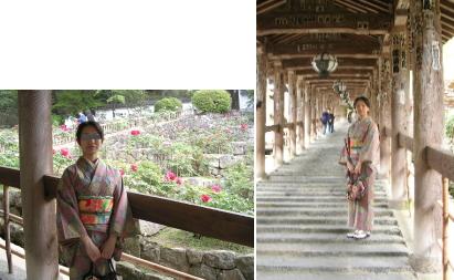 長谷寺といえば回廊