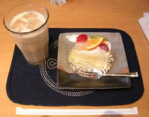 甘橿のケーキ