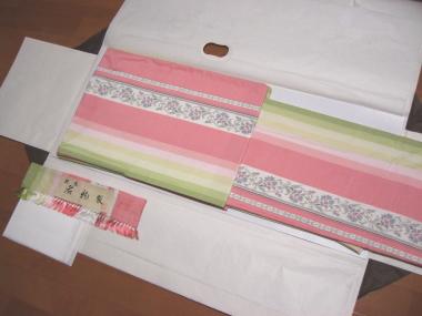 ピンク紬♪かわいい!