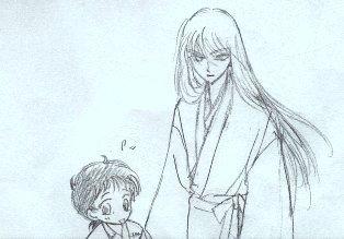 ヤクシャと葉月。
