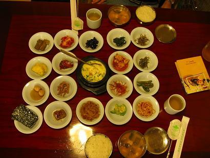 071002韓国韓定食