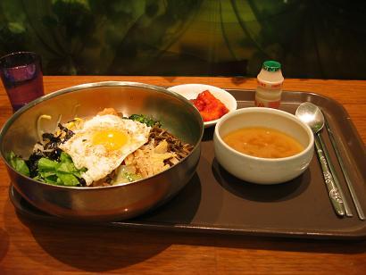 071003韓国お昼ゎビビンバ