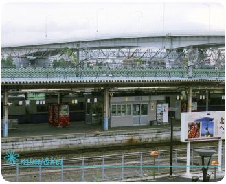 青森駅ホーム