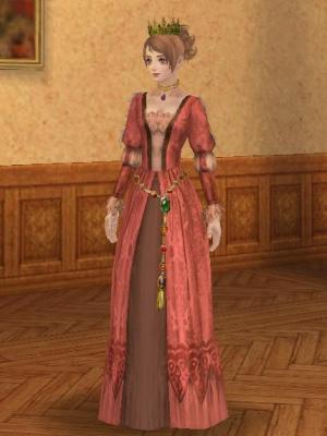インド茜ドレス1