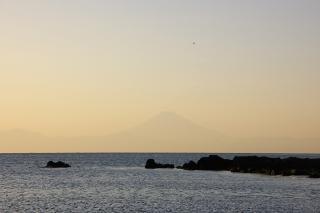 和田長浜 富士山 20070228