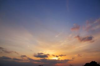 20070302 夕暮れ ソレイユの丘公園