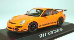 997GT3RS オレンジ フロント