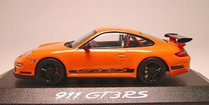 ポルシェ997GT3RS オレンジ サイド