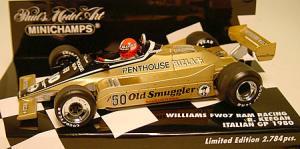 ウィリアムズフォードFW07 イタリアGP