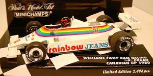 ウィリアムズフォードFW07 カナダGP
