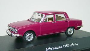 アルファロメオ1750サルーン レッド