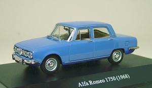 アルファロメオ1750サルーン ブルー