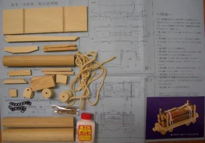 SL材木車説明書